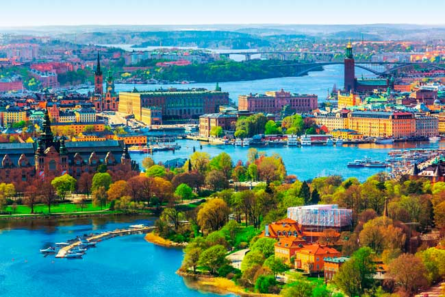 Stockholm is the main city of Sweden and the most populous city in the Nordic countries.